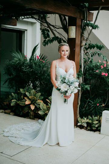 Cancun, Mexico bride - Talbot Photo & Co.
