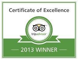 tripadvisor winner 2013