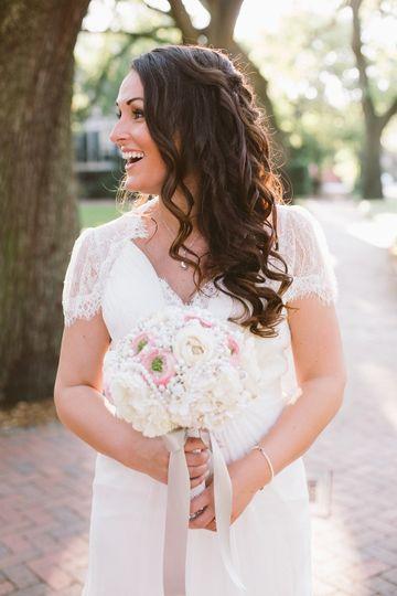 Beautiful grecian style wedding dress