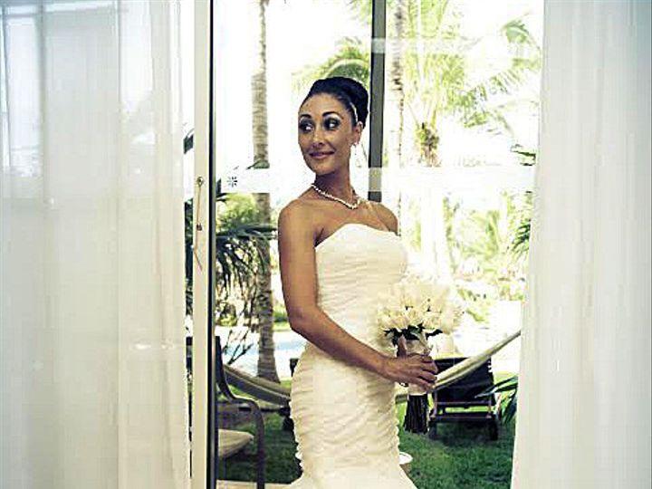 Tmx 1420146691493 Strapless Mermaid Organza Ruffles Wedding Dress By Jersey City, New Jersey wedding dress