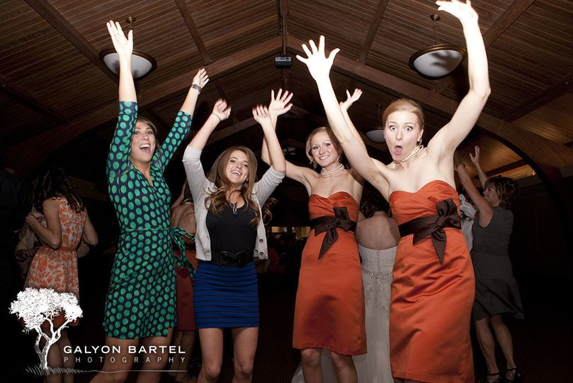 Wedding dance party