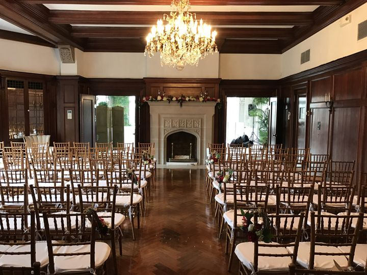 Small Ceremony (100 guests) in Formal Dining Room