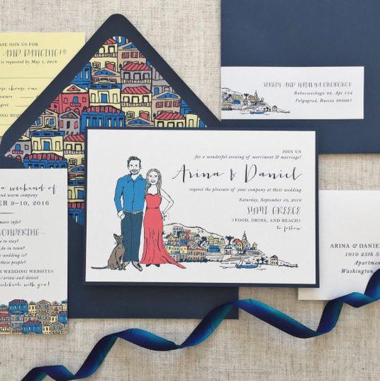 Jenny C Design - Invitations - Albany, NY - WeddingWire