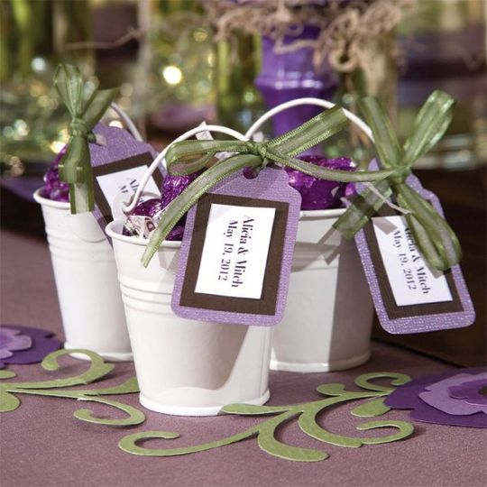 Party Favor Ideas For Wedding Reception: Favors & Gifts