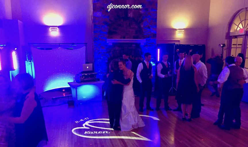 Engagement Sounds hired at Susquehanna Valley Country Club (Selinsgrove, PA)