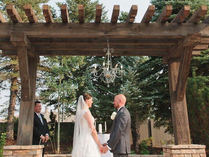 Tmx Ken Caryl Vista By Wedgewood Weddings Bride And Groom With A Chandelier 51 918404 160167013015937 Littleton, CO wedding venue