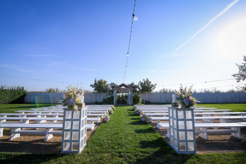 Ceremony space @ The House