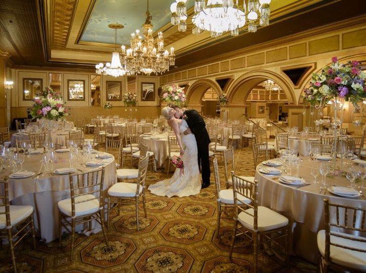 The claridge hotel venue atlantic city nj weddingwire for Design hotel wedding
