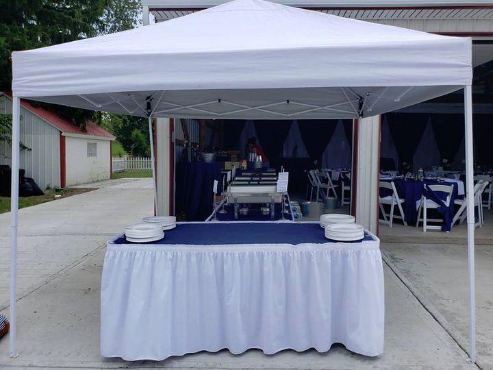 Buffet Tent