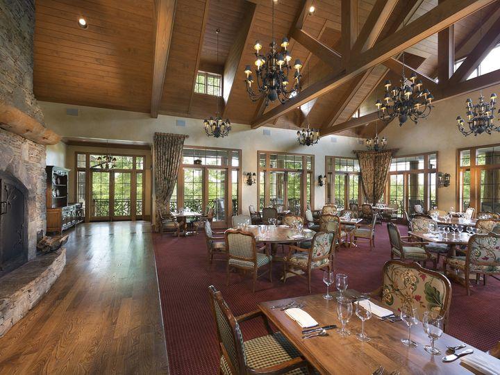 Tmx 1421692990594 Clubhouse Dining Room Small Cashiers, North Carolina wedding venue