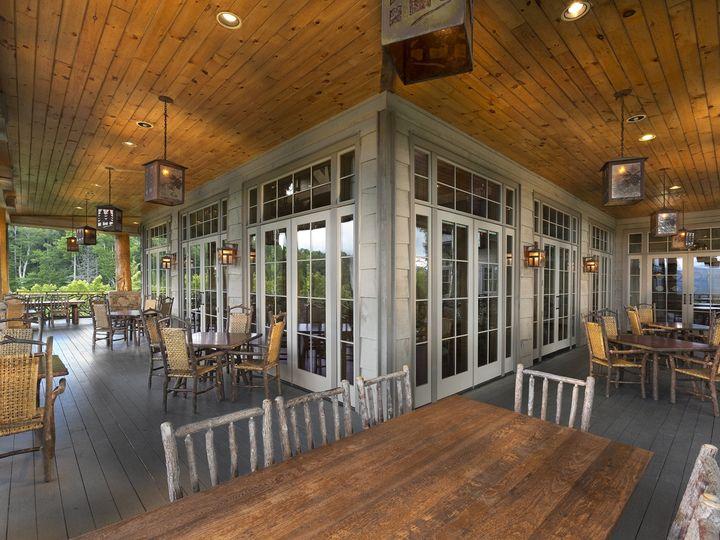 Tmx 1421693022370 Clubhouse Porch Small Cashiers, North Carolina wedding venue