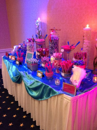 Wedding Favor Candy Station