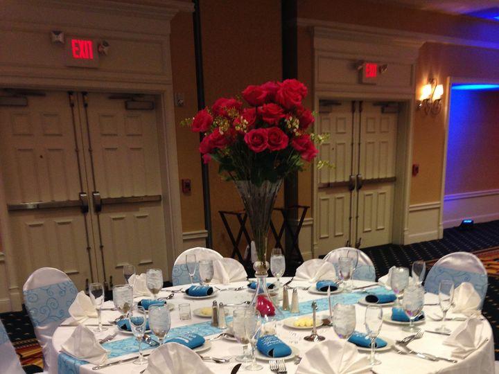 Tmx 1444324653934 White W Blue Tables Gettysburg, PA wedding venue
