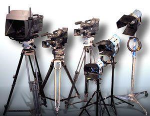 cameras lights
