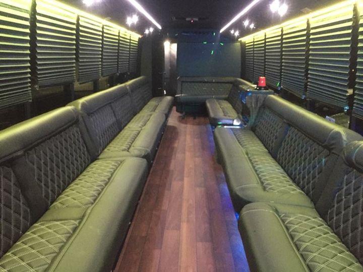 35 Passenger Limo Bus