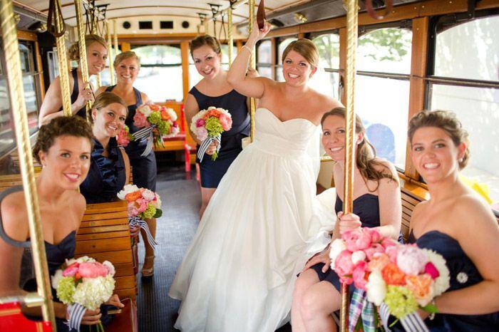 Tmx 1515445845 96d33a93ba7f6c58 1515445843 4b85b49755158ca8 1515445842633 1 Wedding Trolley 4  Richmond, Virginia wedding transportation