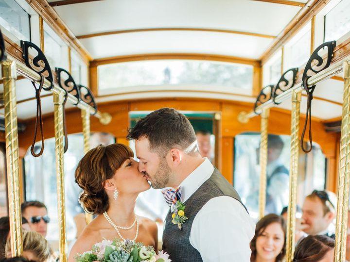 Tmx 1515445877 9dd29d3a9facc850 1515445873 4cfd454466d56e26 1515445870825 4 Wedding Trolley 6 Richmond, Virginia wedding transportation