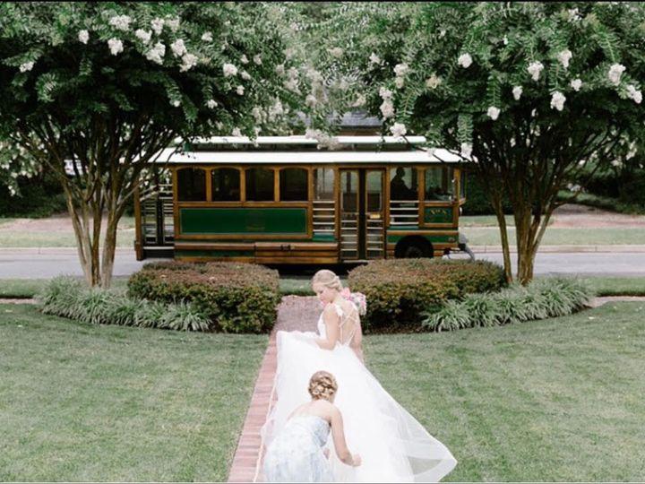 Tmx 1515445905 6bf0deed431e8ff3 1515445904 A15b9b346cbcb7c9 1515445903260 6 Wedding Trolley 1 Richmond, Virginia wedding transportation