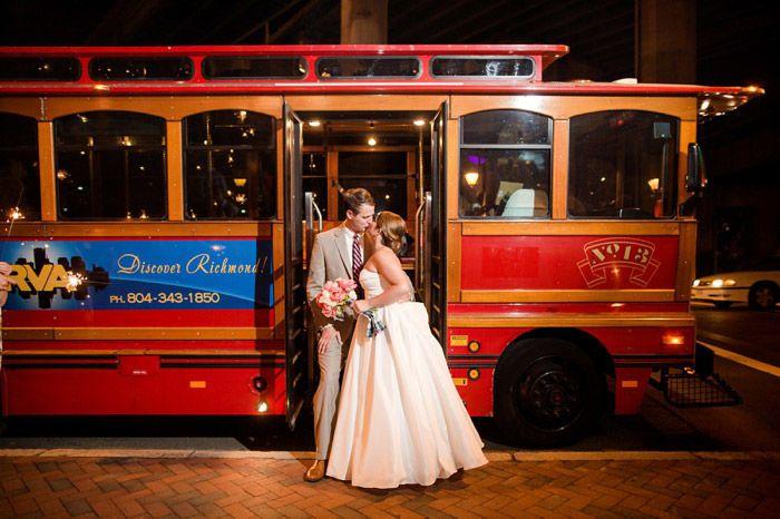 Tmx 1515445981 Dd31a1fa567508cb 1515445980 76c12f07d69381d2 1515445979588 7 Wedding Trolley 5 Richmond, Virginia wedding transportation