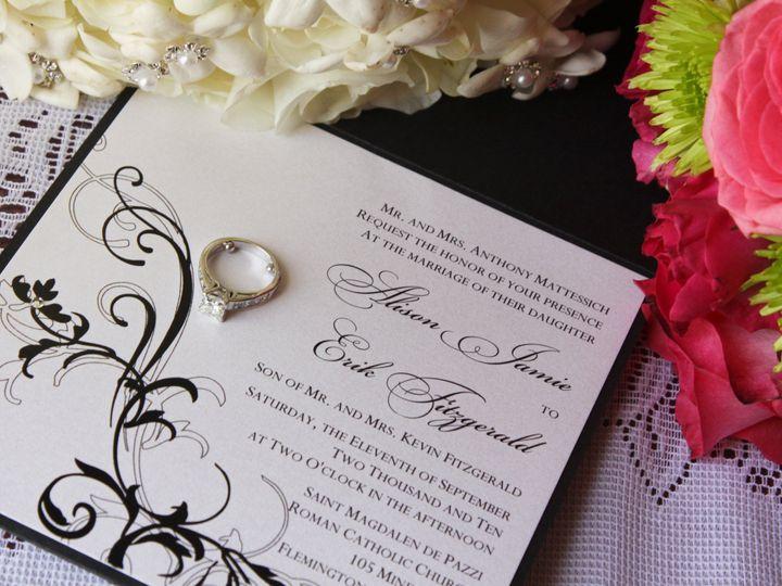 Tmx 1453162308213 Img2405 Flemington wedding invitation