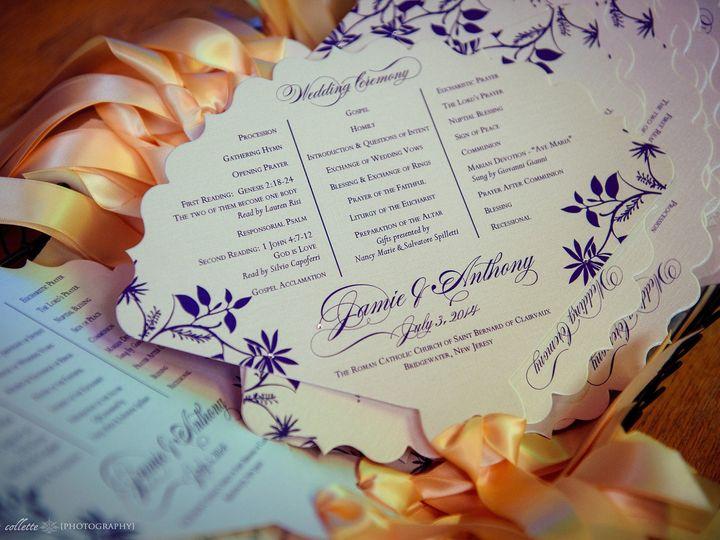 Tmx 1453162450717 Yellow Fan Flemington wedding invitation