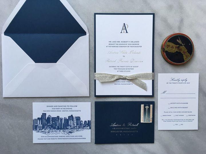 Tmx Andrea And Pat 2 51 930604 1570028336 Quincy, MA wedding invitation