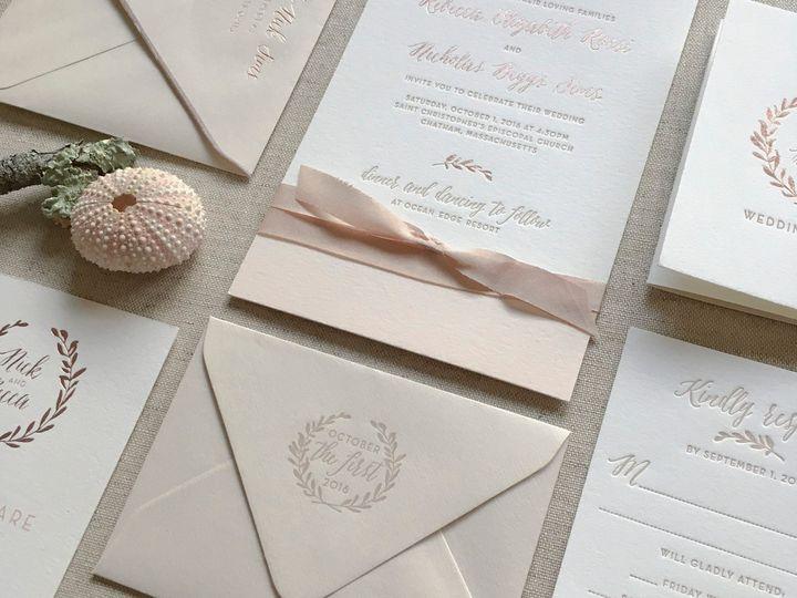 Tmx Becca And Nick 51 930604 1570028369 Quincy, MA wedding invitation