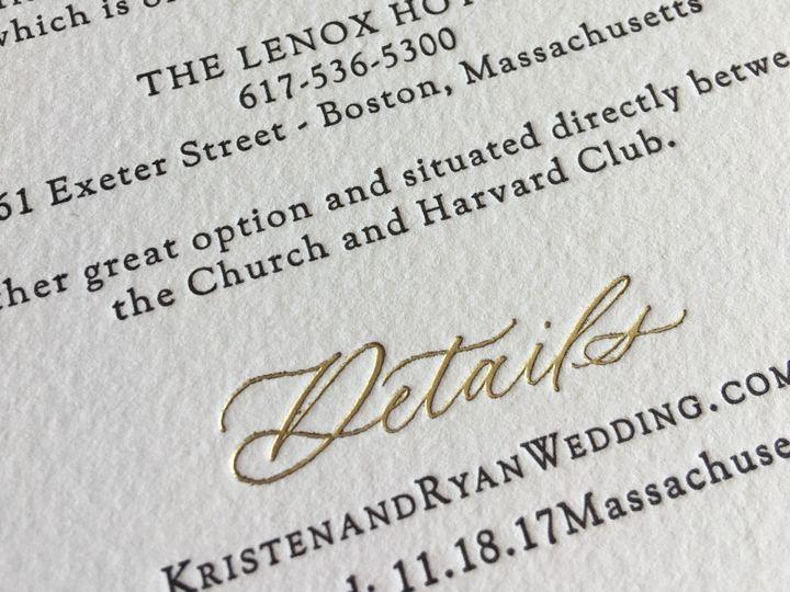 Tmx Img 2913 51 930604 1570028393 Quincy, MA wedding invitation