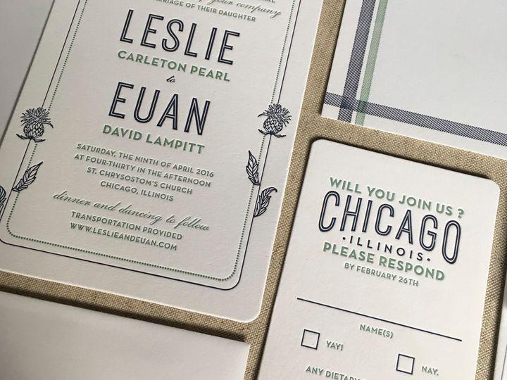 Tmx Leslie And Euan 51 930604 1570028292 Quincy, MA wedding invitation