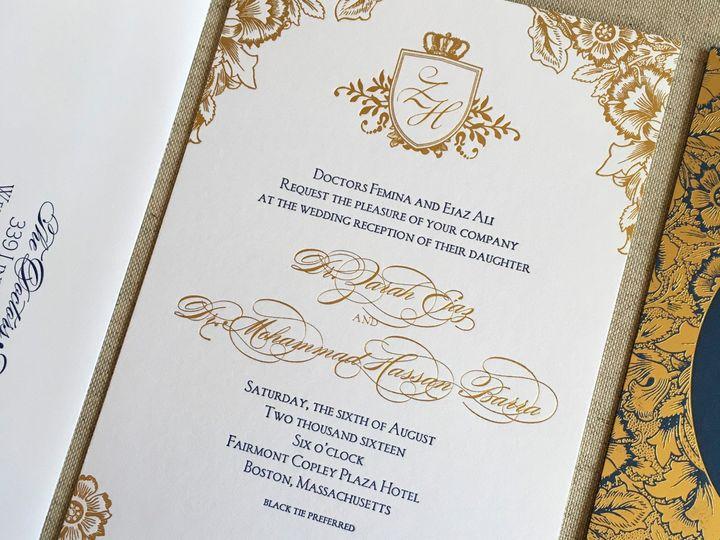 Tmx Zarah Hassan 51 930604 1570028272 Quincy, MA wedding invitation