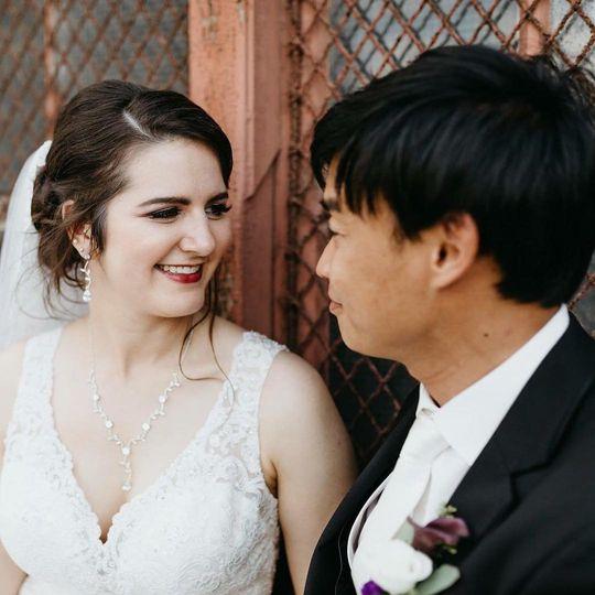 Fall bridal glam