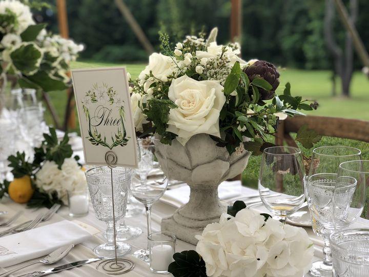 Stone artichoke vases