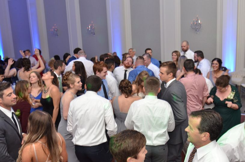 Schwab wedding reception at The Ballroom at Ellis Preserve in Newtown Square. Owned at operated by...