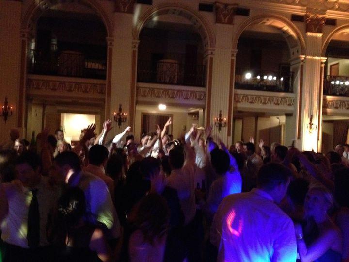 Dance floor at The Ballroom @ The Ben