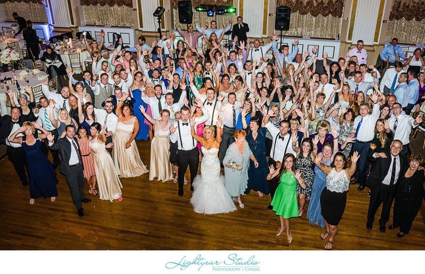Green / Sheesh wedding at The Ballroom at The Ben. Pic courtesy of Lightyear Studio.