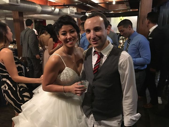 Kevin with the bride
