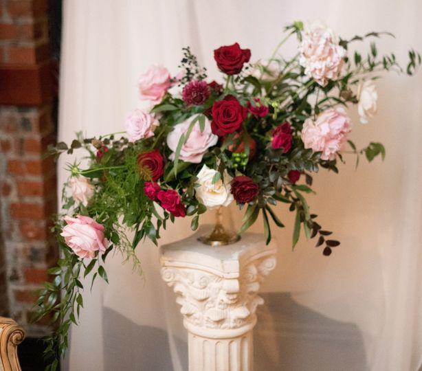 Flemish style floral design