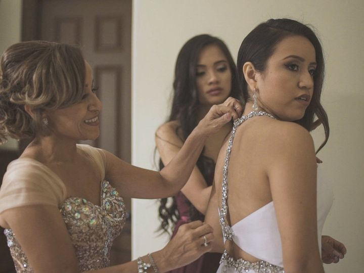 Tmx 1533352560 39b4a55e0e93e676 1533352559 F44d4c4a640c6973 1533352558111 6 Button Dress 9 League City, TX wedding videography