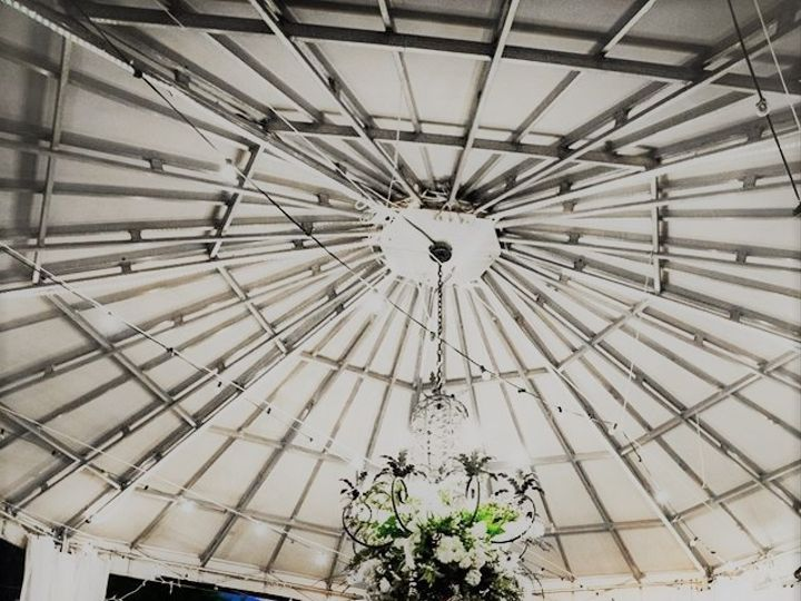 Tmx 1481913115935 Bride And Groom Under Awning High Point wedding venue