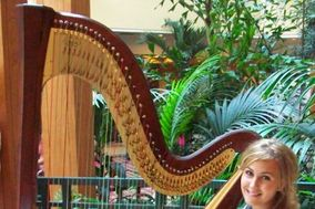 Professional Harpist Jessica Cardwell