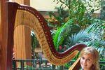 Professional Harpist Jessica Cardwell image