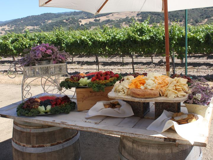 Tmx 1385074848578 Rustic Cheese And Fruit Displa Ventura wedding catering