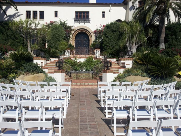 Tmx 1385080019347 Ceremony 2 Hummingbird Nest Ranc Ventura wedding catering
