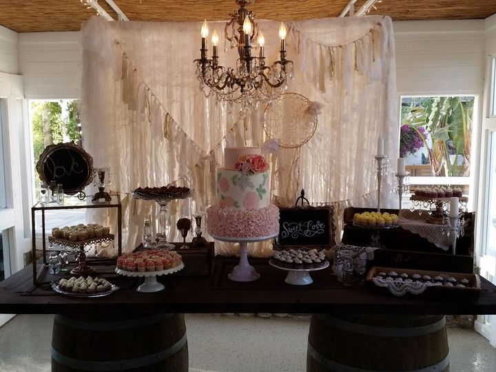 Tmx 1528493314 1bbd849e2d7a4ea3 1528493312 431ad07a54bf1a7a 1528493310283 15 Dessert Display 2 Ventura wedding catering