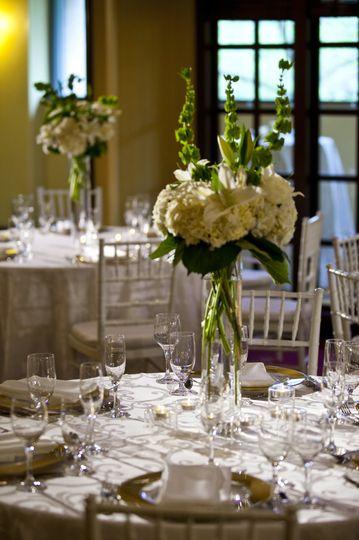 Gorgeous tablescapes.