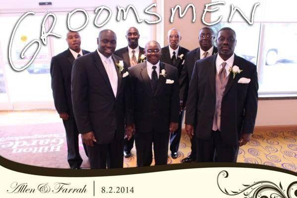 groomsmen farrah