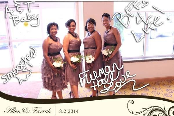 farrah bridesmaides