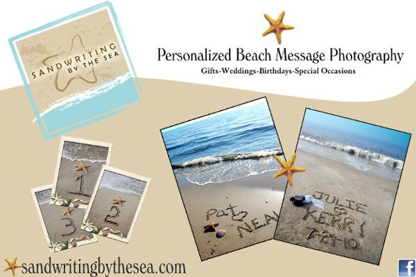 Say it in the Sand! Personalized beach message photography