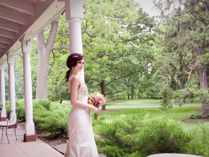 Tmx 1384543813681 Great Gatsby Bride Looking At Front Law Mount Joy wedding venue