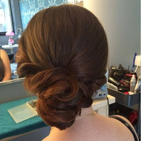simple updo 1